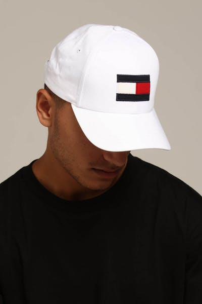 Tommy Jeans Big Flag Cap White