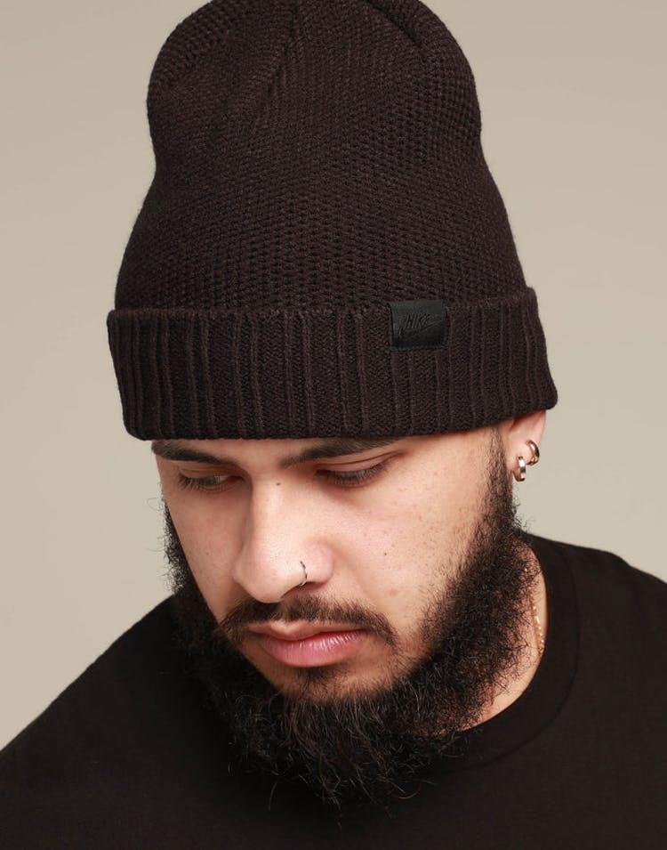 e6fd95f782f Nike NSW Beanie Honeycomb Black/Black – Culture Kings
