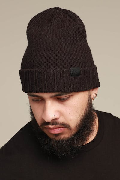 super popular 19ec0 e4693 Nike NSW Beanie Honeycomb Black Black