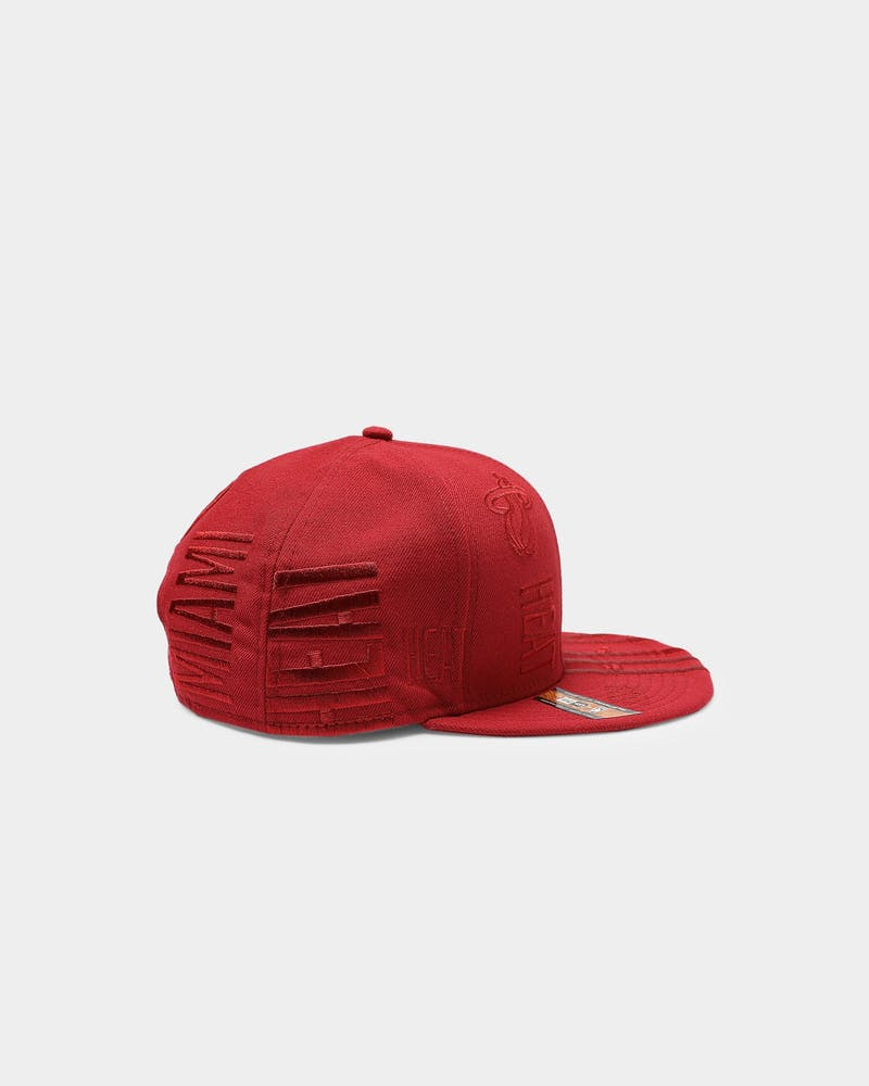 New Era Miami Heat 9FIFTY '19 Snapback Maroon