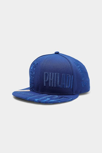 New Era Philadelphia 76ers 9FIFTY '19 Snapback Navy