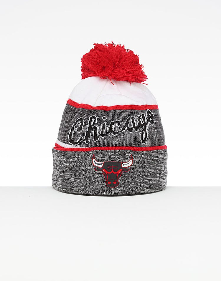 f262c786 Mitchell & Ness Chicago Bulls Team Knit HWC Beanie Grey/Red – Culture Kings