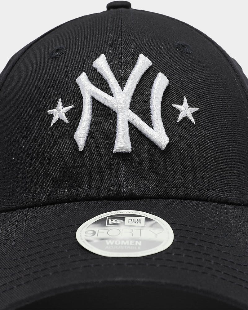 New Era Women's New York Yankees 9FORTY Star Strapback Navy