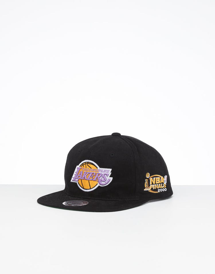 650fc6c90 Mitchell & Ness Los Angeles Lakers Deadstock NBA Finals Snapback Black