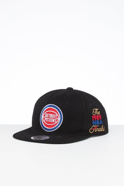 Mitchell & Ness Detroit Pistons Deadstock NBA Finals Snapback Black