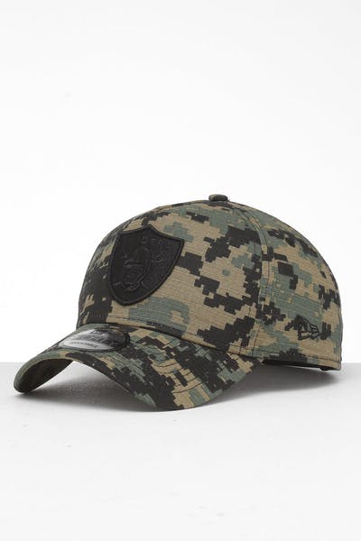New Era Raiders 9FORTY A-Frame Snapback Digi Camo/Black