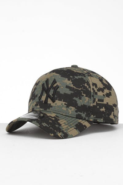 premium selection 7564b 8b26f New Era New York Yankees 9FORTY A-Frame Snapback Digi Camo Black ...
