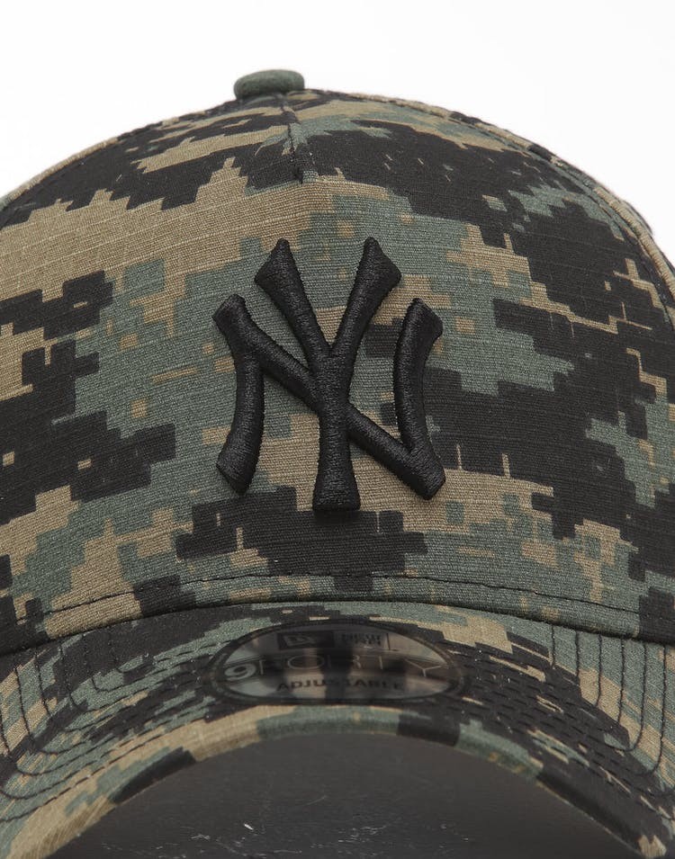 6b20e0af New Era New York Yankees 9FORTY A-Frame Snapback Digi Camo/Black
