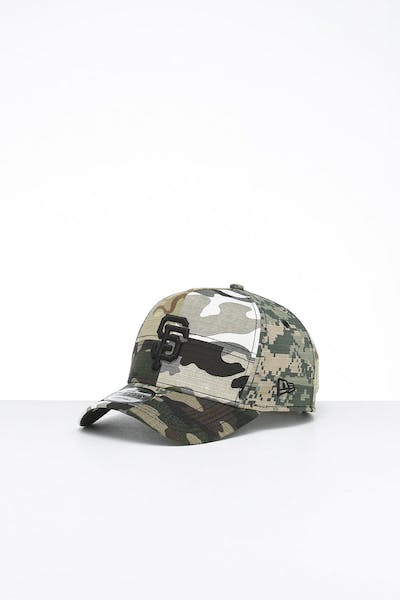 New Era San Francisco Giants 9FORTY K-Frame Multi-Camo/Black