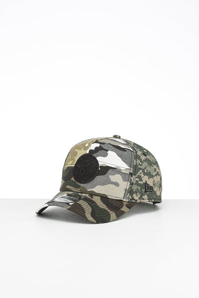 New Era Philadelphia 76ers 9FORTY K-Frame Multi-Camo/Black