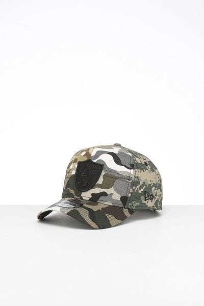 New Era Raiders 9FORTY K-Frame Multi-Camo/Black