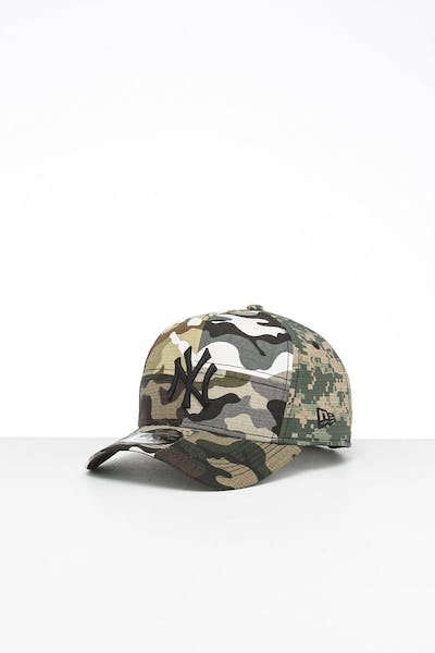 New Era New York Yankees 9FORTY K-Frame Multi-Camo/Black