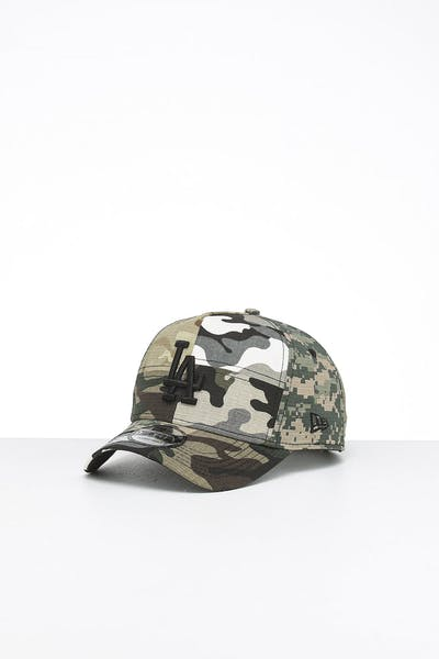 New Era Los Angeles Dodgers 9FORTY K-Frame Multi-Camo/Black