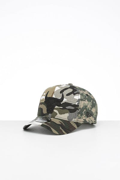 New Era Chicago Bulls 9FORTY K-Frame Multi-Camo/Black