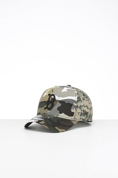 New Era Boston Red Sox 9FORTY K-Frame Multi-Camo/Black