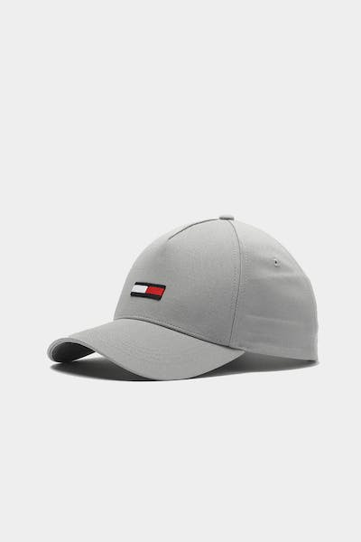 Tommy Jeans TJM Flag Cap Sleet Grey