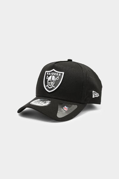 New Era Raiders 9FORTY K-Frame XL Snapback Black/White