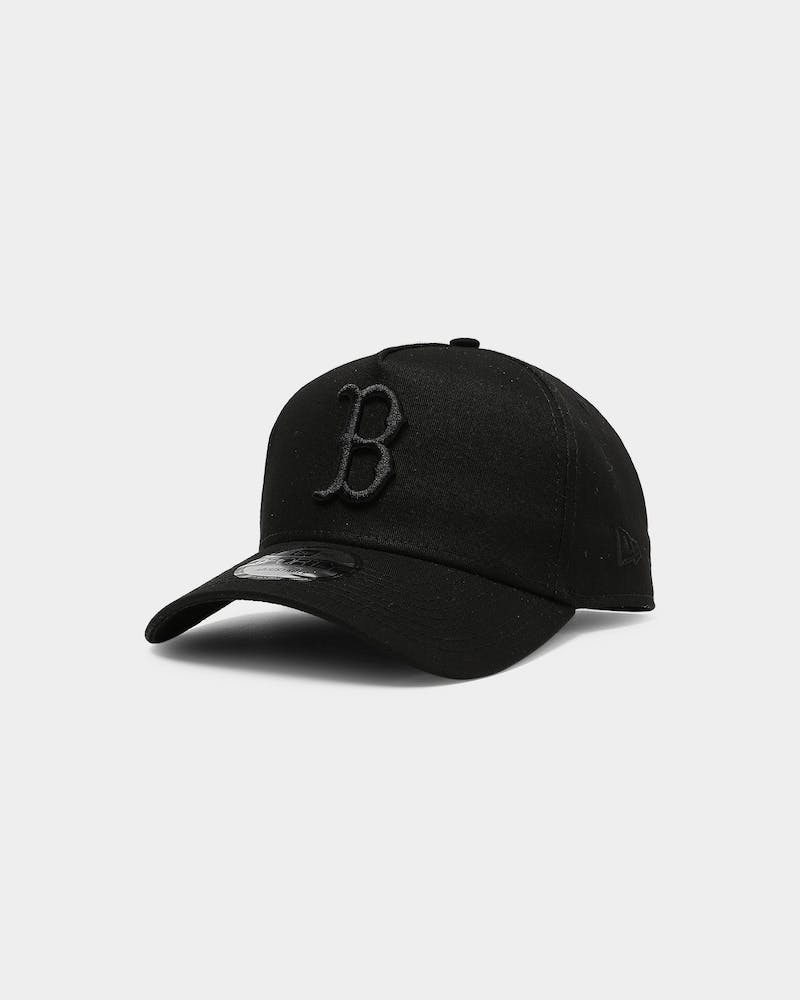New Era Boston Red Sox 9FORTY A-Frame Snapback Black/Black