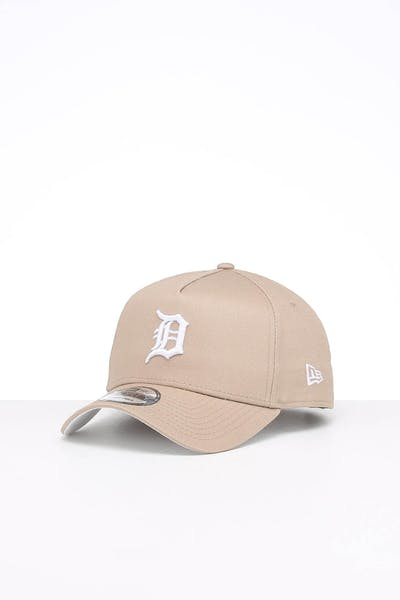 New Era Detroit Tigers 9FORTY A-Frame Seasonal Snapback Moss Tumbleweed/White