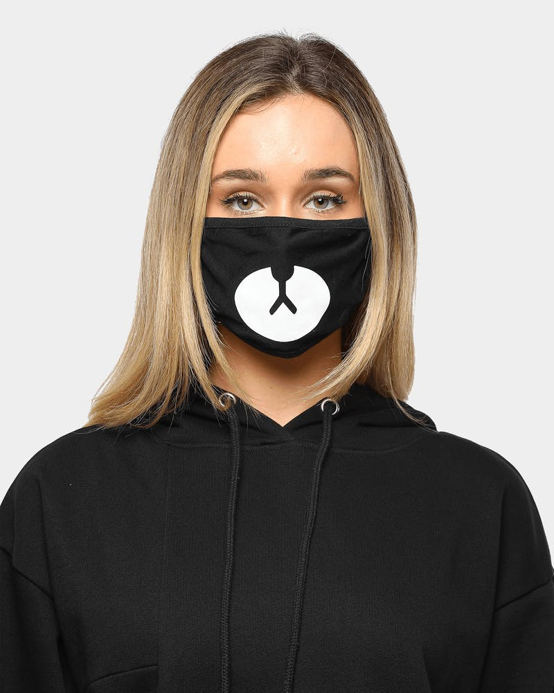 Goat Crew Men's Bear Face Mask Black