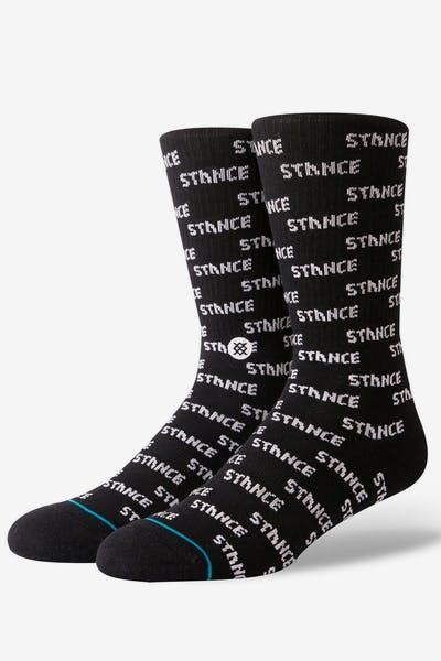 Stance Repeat Black