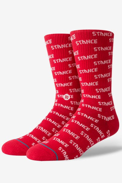 Stance Repeat Red