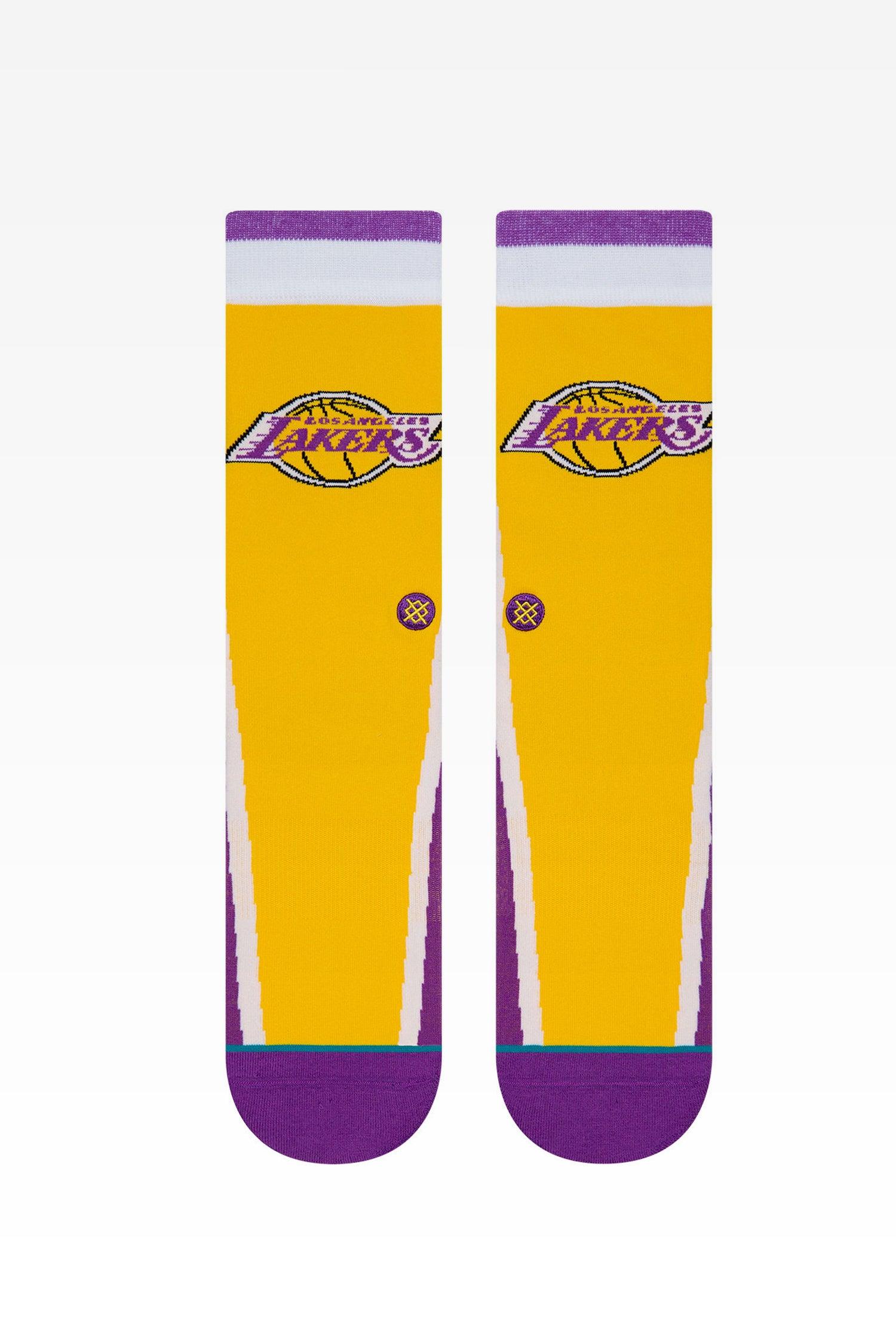 Stance Los Angeles Lakers HWC Warmup Purple