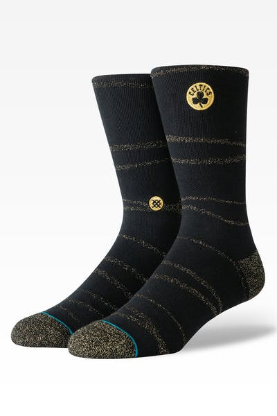 Stance Boston Celtics Trophy Twist Sock Black