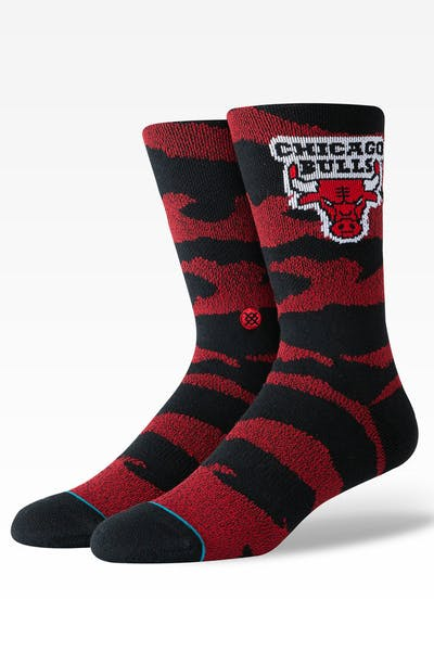 Stance Chicago Bulls Camo Melange Sock Black
