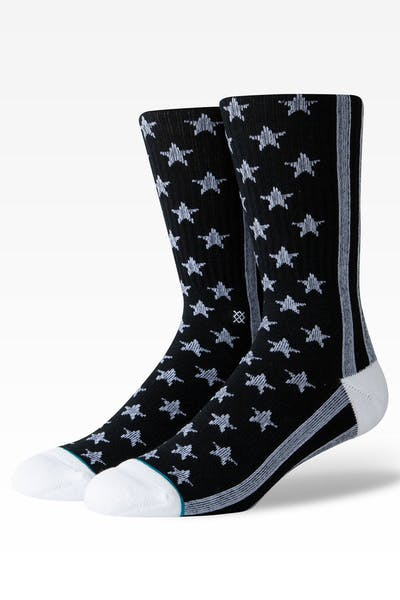 Stance The States Crew Sock Black