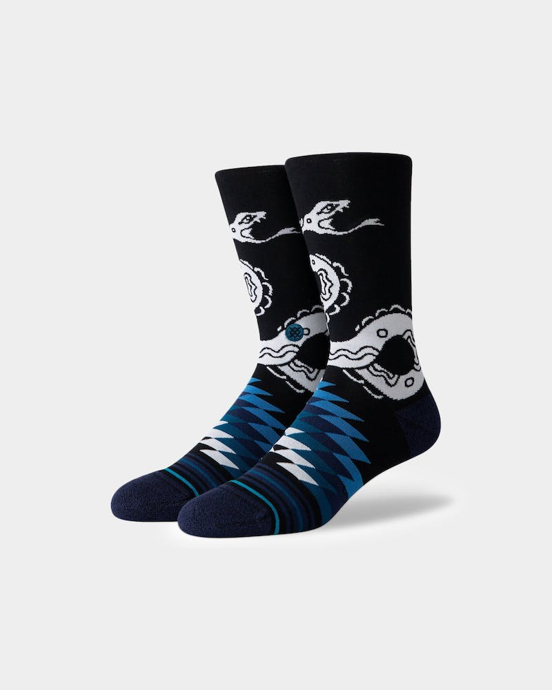 Stance Crotalus Crew Sock Black