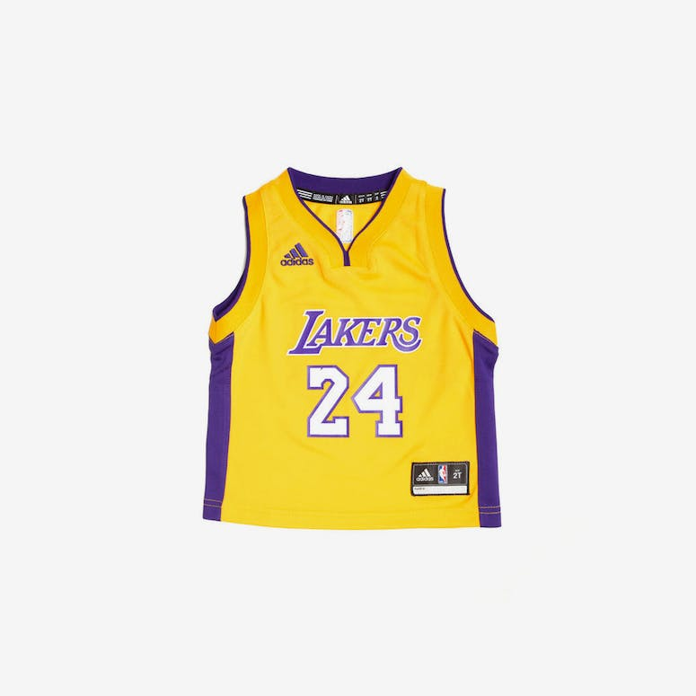 Adidas Los Angeles Lakers Home Toddler Jersey Kobe Bryant  24 Gold –  Culture Kings 9e8c25f1917b