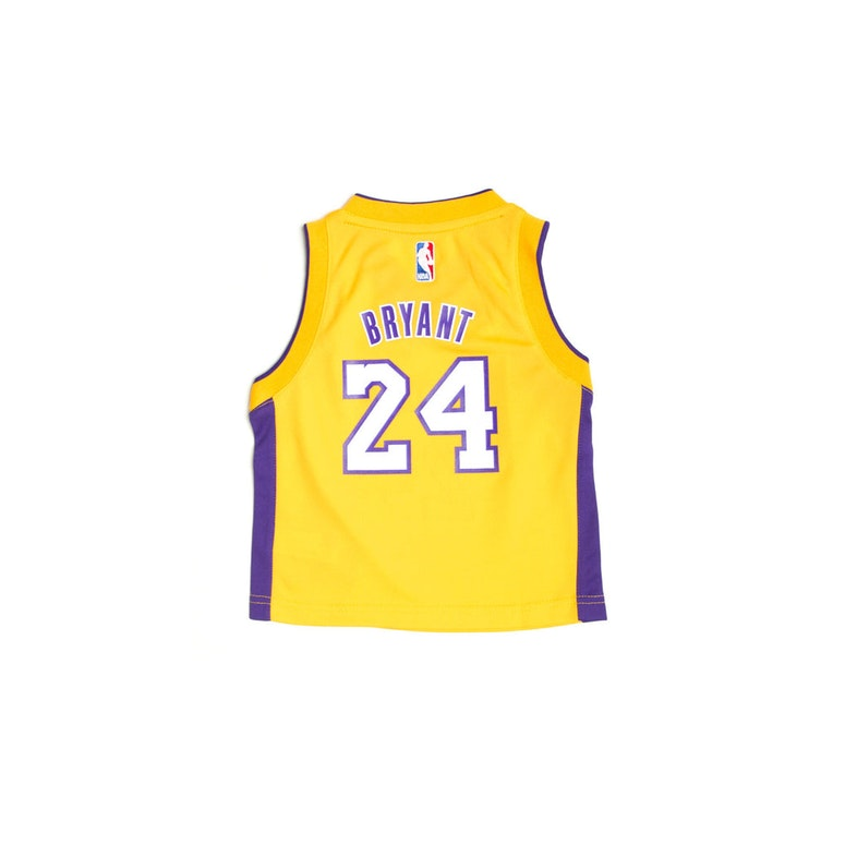 0d85fc7bea35 ... Adidas Los Angeles Lakers Home Toddler Jersey Kobe Bryant 24 Gold .