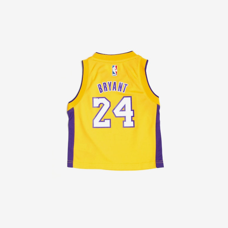 Adidas Los Angeles Lakers Home Toddler Jersey Kobe Bryant #24 Gold