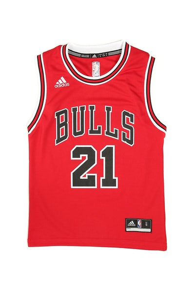Adidas Bulls Replica Road Youth Jersey Butler 21 Red