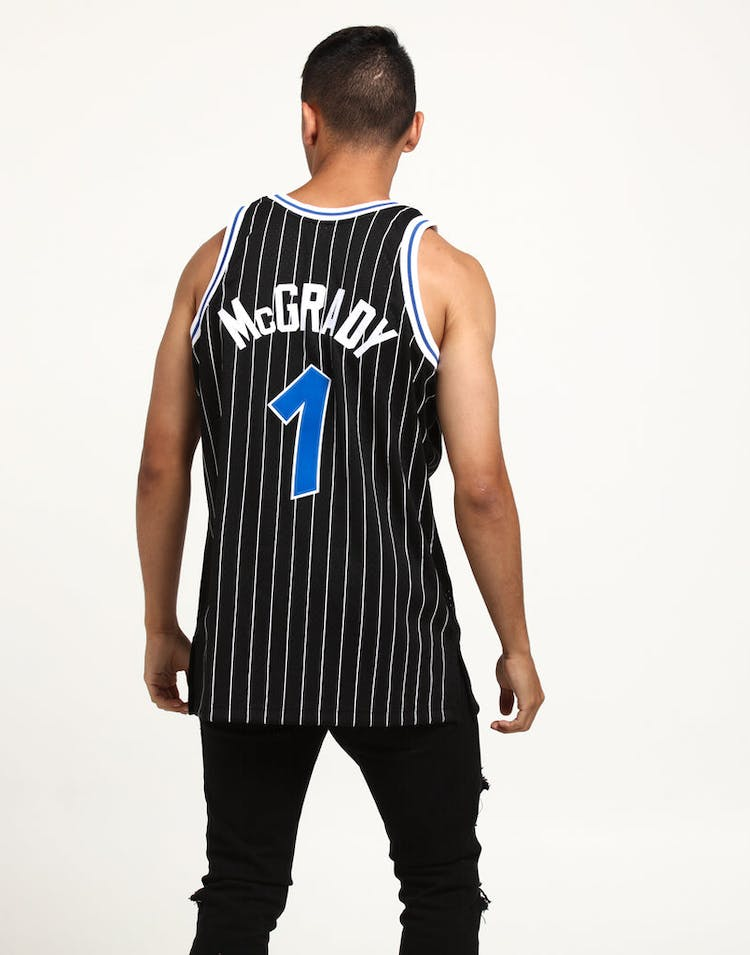274dc3bc Mitchell & Ness Orlando Magic Tracy McGrady #1 Swingman Jersey Black ...