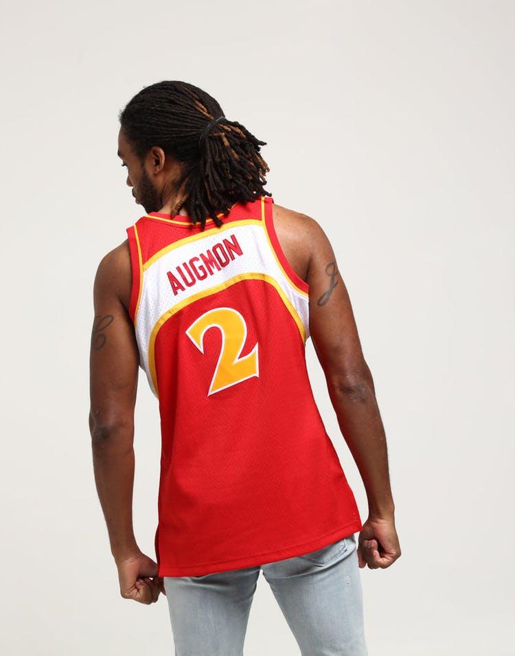 662d7f82d779 Mitchell   Ness Atlanta Hawks Stacey Augmon  2 Swingman NBA Jersey ...