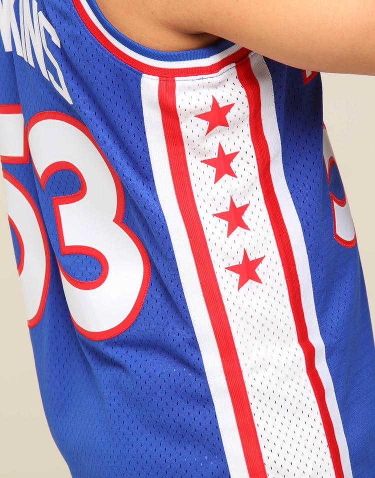 reputable site 67f82 5970c Mitchell & Ness Philadelphia 76ers Darryl Dawkins #53 NBA Swingman Jersey  Royal