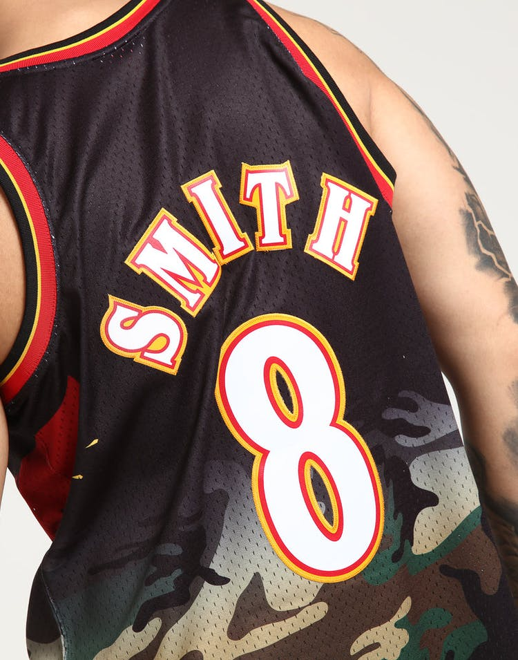 fcc6b6db7ef43 Mitchell & Ness Atlanta Hawks Steve Smith #8 Swingman NBA Jersey Camo