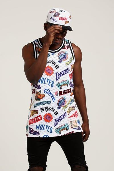 Mitchell   Ness All Star West Swingman NBA Jersey White 0314d862194d