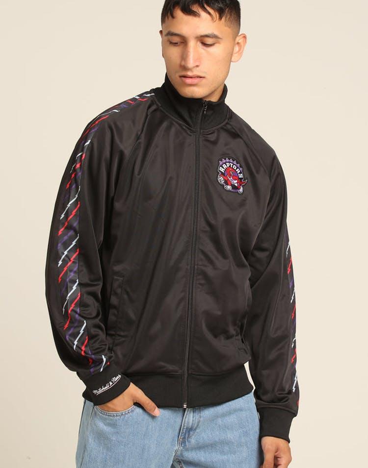 727e3368f1a Mitchell   Ness Toronto Raptors Panel Track Jacket Black – Culture Kings