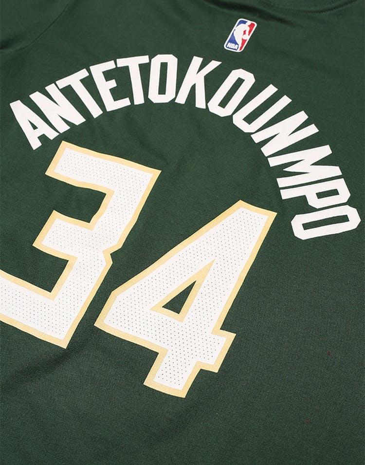 info for 9b80a 24bf0 Nike Boys Icon Tee Giannis Antetokounmpo Green