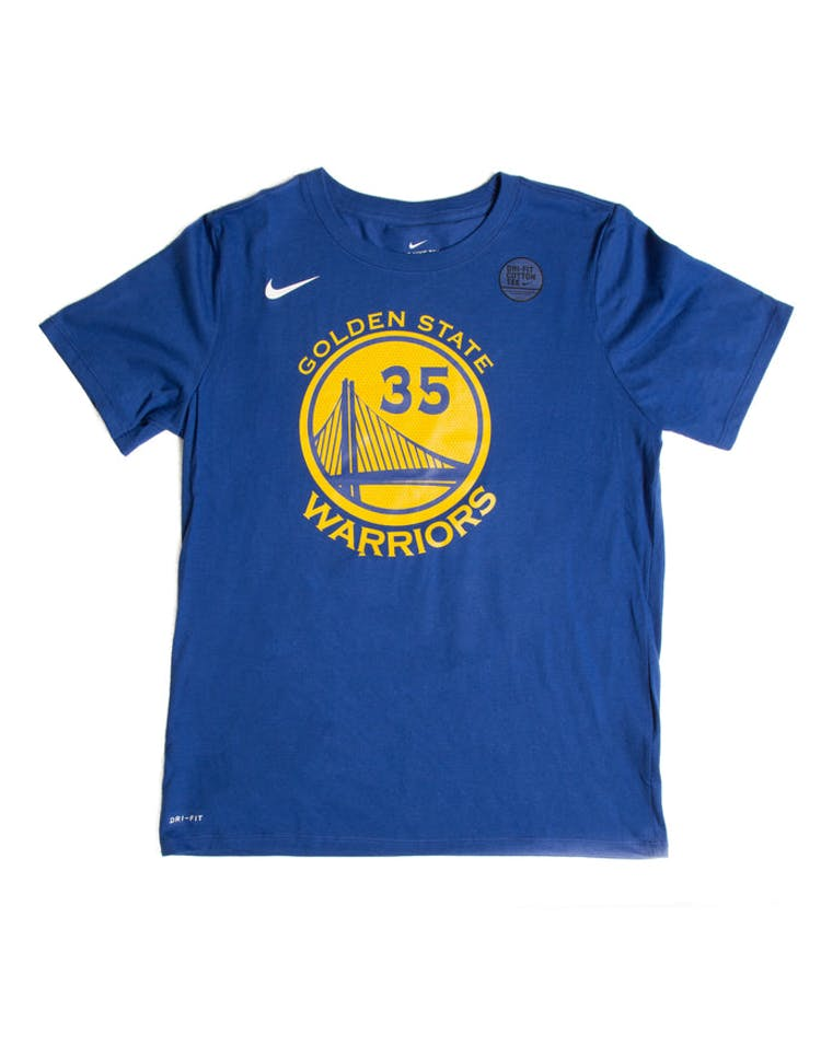 low priced 630a1 43834 Nike Boys Icon N&N Tee Kevin Durant Blue