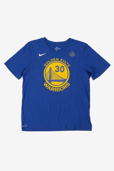 1b3f09889b7d Nike Boys Icon N N Tee Stephen Curry Blue