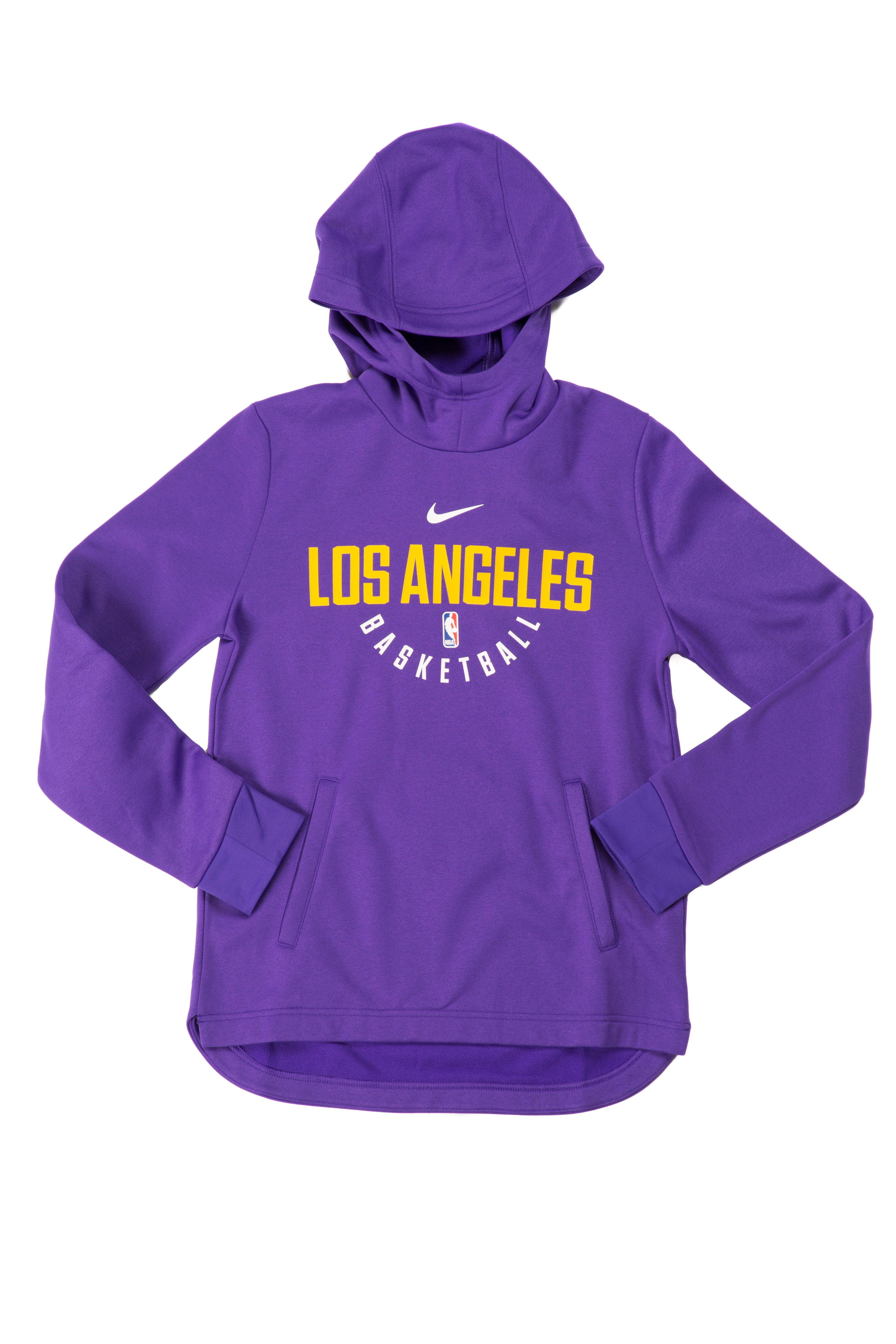 Youth Los Angeles Lakers adidas Purple On Court Jacket