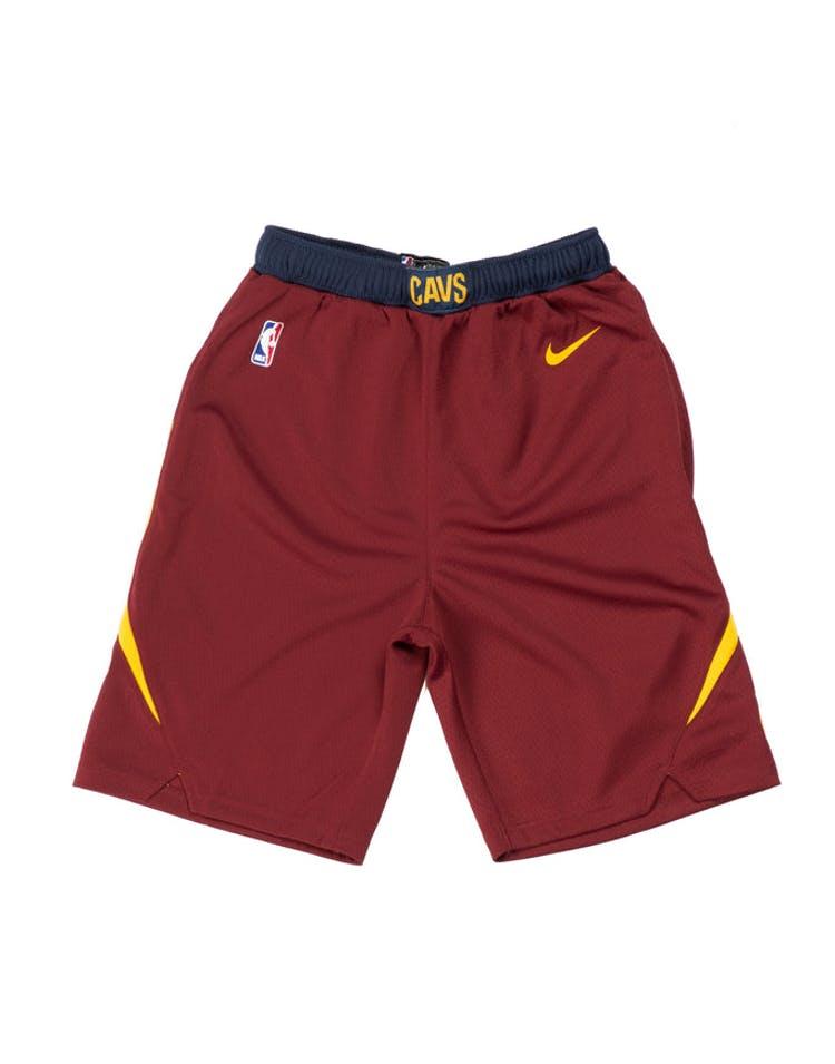 03295db855da6f Cleveland Cavaliers Nike Icon Youth Swingman Shorts Burgundy – Culture Kings