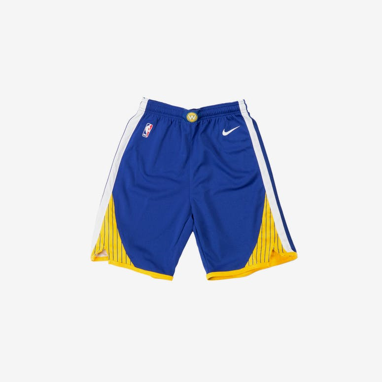 Golden State Warriors Nike Icon Youth Swingman Shorts Blue – Culture Kings c54999d71