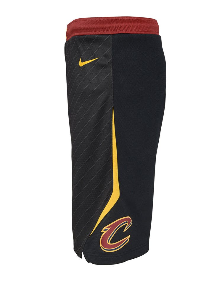Nike Kids Cleveland Cavaliers Statement Swingman Short Black