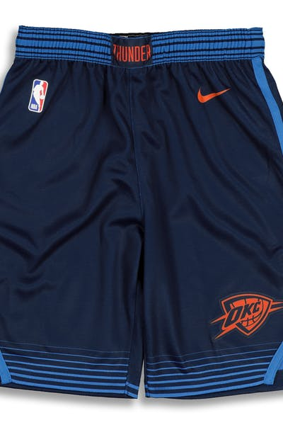Nike Kids Oklahoma City Thunder Statement Swingman Short Navy