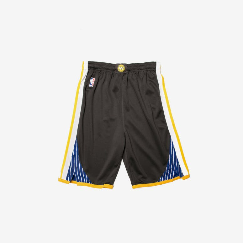 Golden State Warriors Nike Statement Youth Swingman Shorts Charcoal –  Culture Kings 2b19c6634